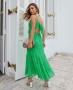 Vestido Longuete em Chiffon Donna Ritz