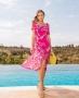 Vestido Midi Floral com Lastex Doce Flor