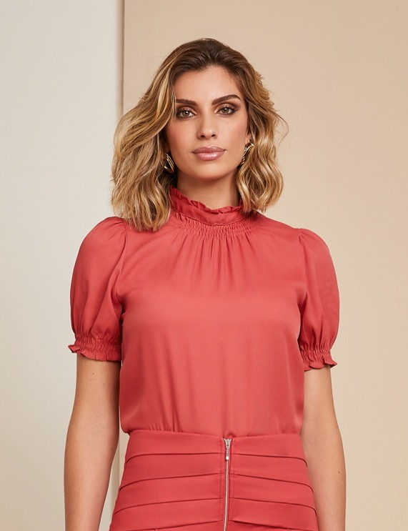 Blusa Lastex Amarracao Unique Chic
