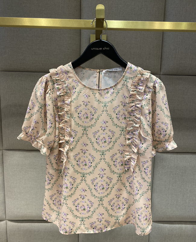 Blusa Liberty com Babados Unique Chic