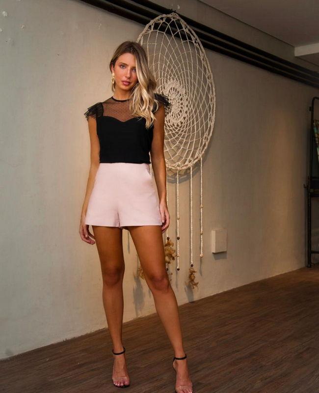 Shorts Alfaiataria Donna RItz