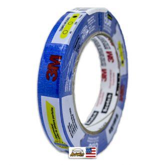 3M Fita Crepe Automotiva Blue Tape Scotch 2090 24mm x 50m