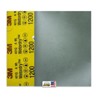 3M Lixa D´Água P1200 401Q (1 unidade) 225mmx275mm