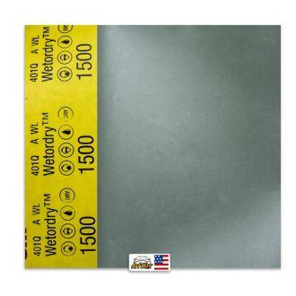 3M Lixa D´Água P1500 401Q (1 unidade) 225mmx275mm