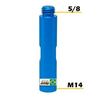 Adaptador 14mm Para 5/8 - 9,5cm Aluminio For Detail