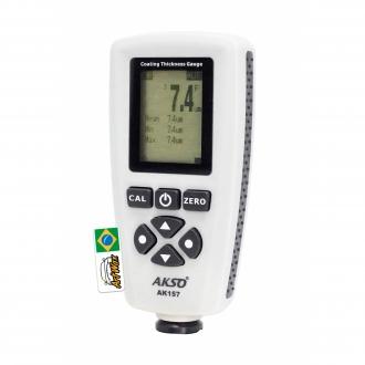Akso AK157 Medidor de Espessura de Camadas - Base Ferrosas e Não Ferrosas