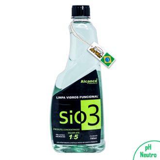 Alcance SiO3 Limpa Vidros 700ml - Concentrado 1:5 (Não agride Insulfilm)