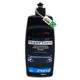 Autoamerica Super Cera Premium - 2 em 1 (473ml)