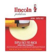 Boina de Espuma 8´´ Dupla Face Fio Macia Amarelo 320171 Lincoln