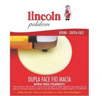 Boina Dupla Face Fio Macia 8´´ Amarela  320171 Lincoln