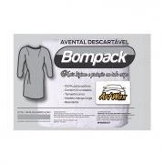 Bompack Avental Descartavel TNT C/10