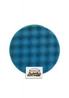 Buff and Shine Boina Espuma Super Macia Waffle Azul 7.5´´