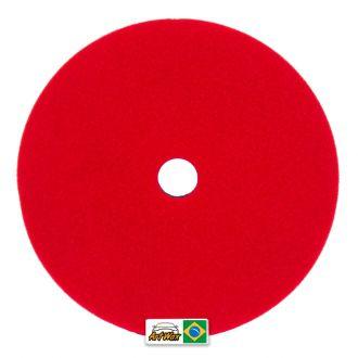 Buff and shine boina espuma Vermelha Pro Super Macia 6´´