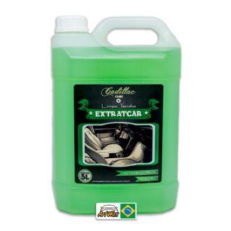 Cadillac Limpa Estofados Extratcar 5L - Com Ação Bactericida e Fungicida