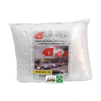 Capa Automotiva Transparente c/ elástico G - Capa Reis 1un