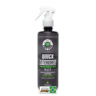 Easytech Quick Interiores 500ml - Limpeza e Proteção de Interiores Plasticos/Borrachas