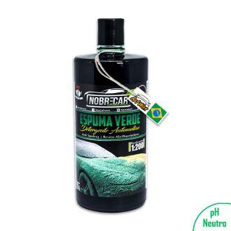 Espuma Verde Detergente Automotivo Nobre Car 1 Litro
