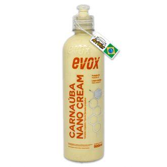 Evox Carnauba Nano Cream 500ml - Cera Limpadora de Carnauba