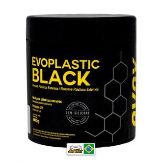 Evox Evoplastic Black 400g - Renovador de Plasticos Externos