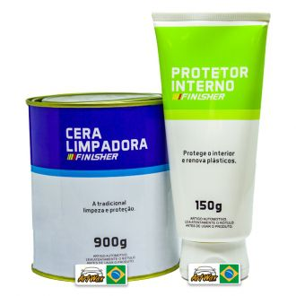 Finisher Cera Limpadora Lata 900g +Brinde