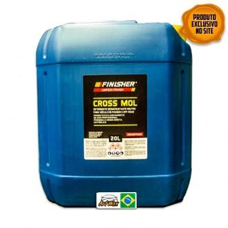 Finisher Cross Mol Detergente Desincrustante Neutro Concentrado 20L