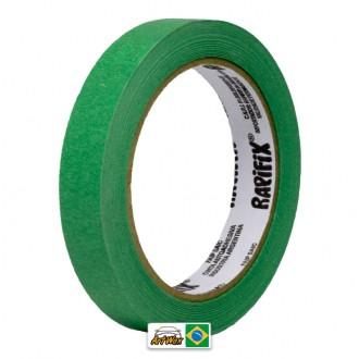 Fita Crepe Verde Alta Performance 18mmx40m Rapifix