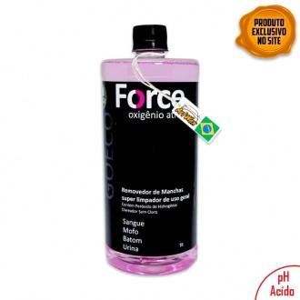 Force 1L - Removedor de Manchas Com Oxigênio Ativo Go Eco Wash