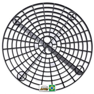 Grelha Separadora de Particula Preta Avulsa Detailer