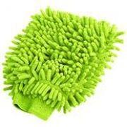 Kers - Luva de lavagem em microfibra - verde (1un)
