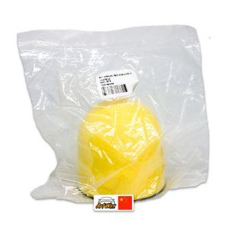 """Kers Suporte Manual Redondo Com Velcro 3"""" Amarelo"""