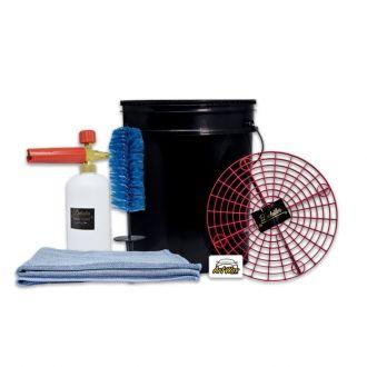 Kit Acessórios Lavagem Detailer Profissional