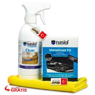 Kit Nasiol Proteção e Brilho Para Pintura +Brinde