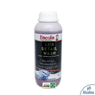 Lincoln LS18 Detail Wash Shampoo Automotivo Concentrado - 1L