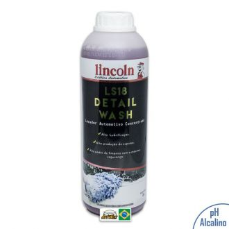 Lincoln LS18 Detail Wash Shampoo Automotivo Concentrado - 2L