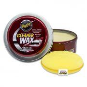 Meguiars Cleaner Wax (Pasta) - Limpeza, Proteção e Brilho - 311g
