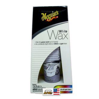 Meguiars White Wax 198g - Cera Branca Para Carros Claros