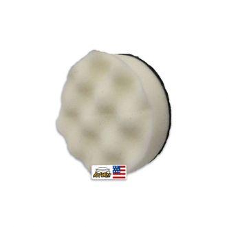 """Mills Boina de Espuma Ondulada Branca Macia 3.4"""""""