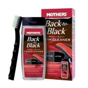 Mothers Back to Black heavy duty - Restaurador de plásticos e borrachas 355mL