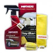 Mothers California Gold Removedor de Contaminações e Restaurador Clay Bar (Kit)