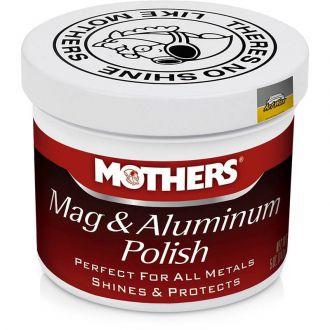 Mothers Polidor de Metais - Mag & Aluminum Polish (141g)