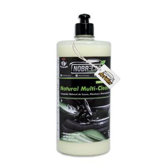 Natural Multi Cleaner Limpador Multi Funcional Couro e Plastico Nobre Car 1L