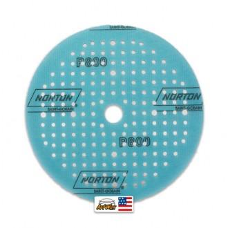 """Norton Disco de Lixa Seco A275 - P800 6"""" Soft Touch"""