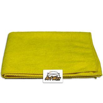 Pano de Microfibra Mandala Amarelo 38x38cm  230gsm