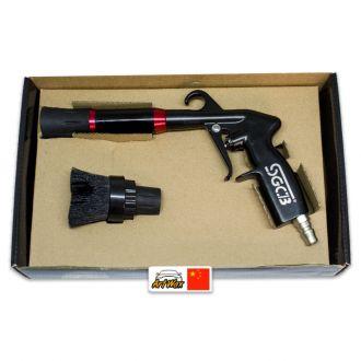 Pistola de Ar Tornadora Interior com Escova SGCB - Sem Reservatorio