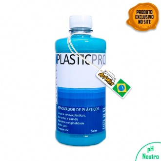 PlasticPro 500ml Renovador de Plásticos e Borrachas Go Eco Wash