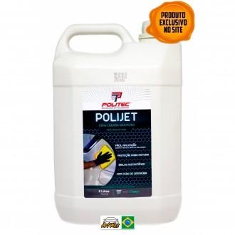 Polijet 5L - Cera Protetora Liquida Multiuso Politec