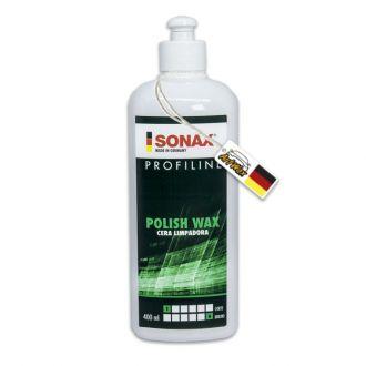 Polish e Wax Cera Polidora a Base de Nanotecnologia Sonax 400g