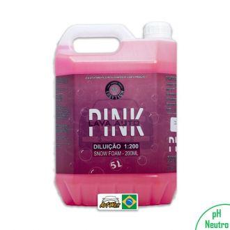 Shampoo Automotivo Pink Easytech 1:200 - 5L Concentrado