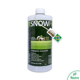 SnowPro 1L Shampoo Automotivo com Óleo de Coco Go Eco Wash