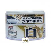 Soft99 Cera Limpadora Cores Claras Extreme Gloss White Cleaner 200g